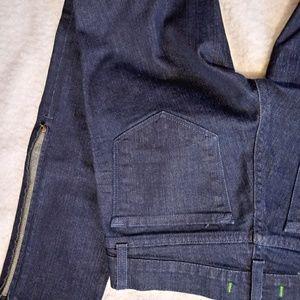 J Brand Zipper Ankle Skinny Jeans 24